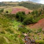 Waschstrasse in Peru