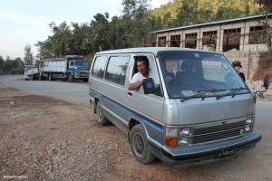 Mit dem Bus durch Myanmar