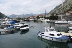 Der Hafen von Kotor