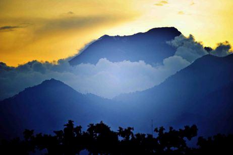 Mount Kanleon, Negros, Philippinen