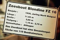 Zeesboot Blondine FZ
