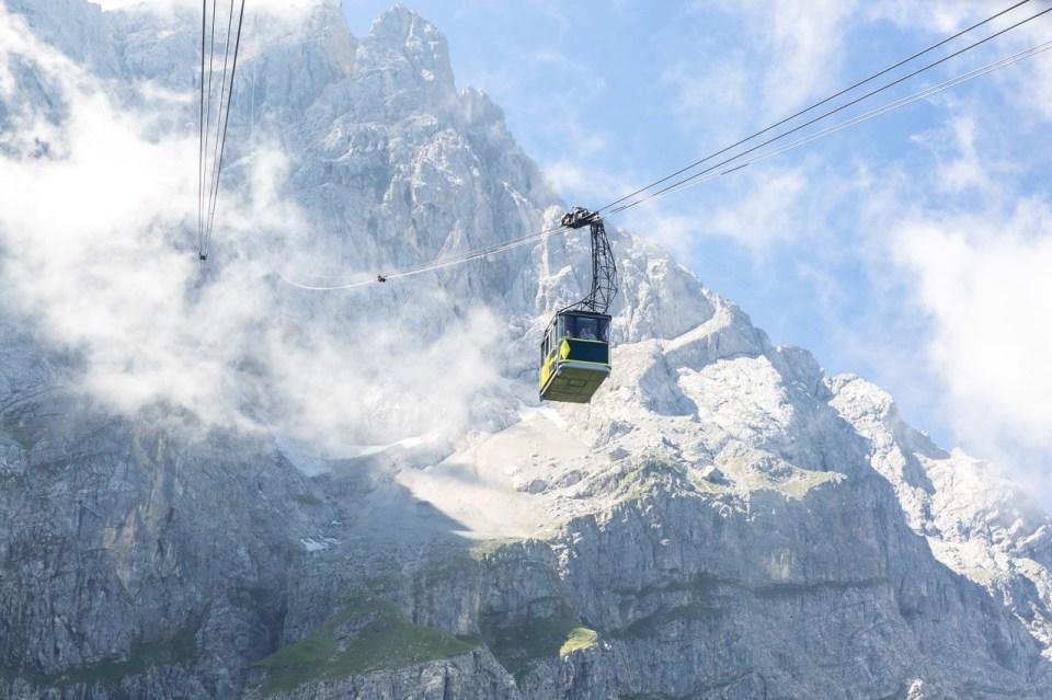 Heis opp til Zugspitze