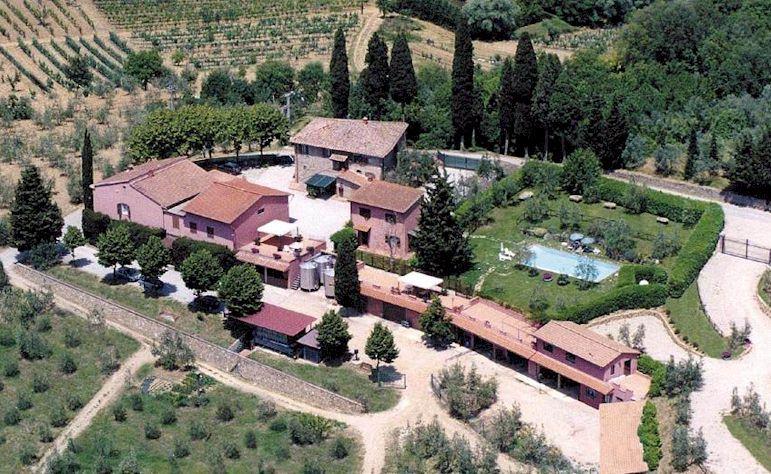 Melazzano wineyard Greve in Chianti