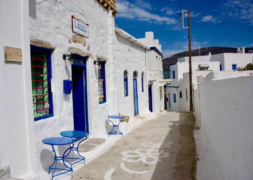 Butikk i Amorgos Hellas