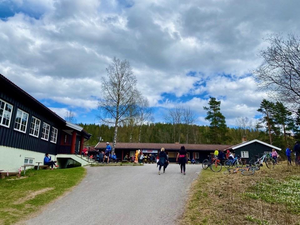 Mariholtet Sportsstue i Nordmarka