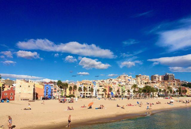 Strand i Villajoyosa
