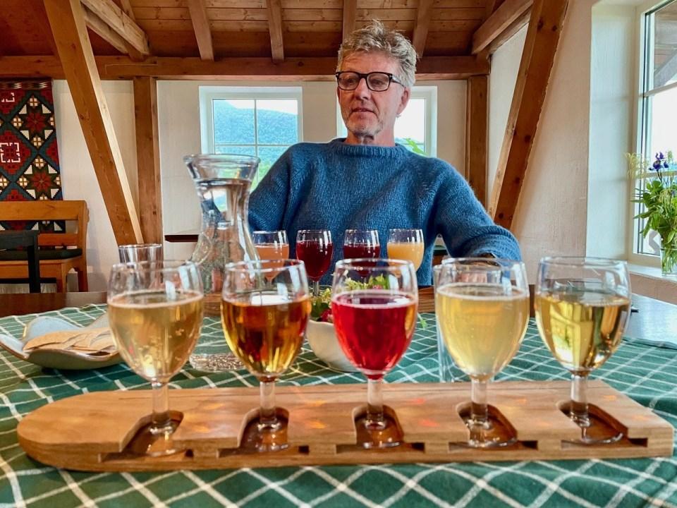 Cidersmaking i Balestrand