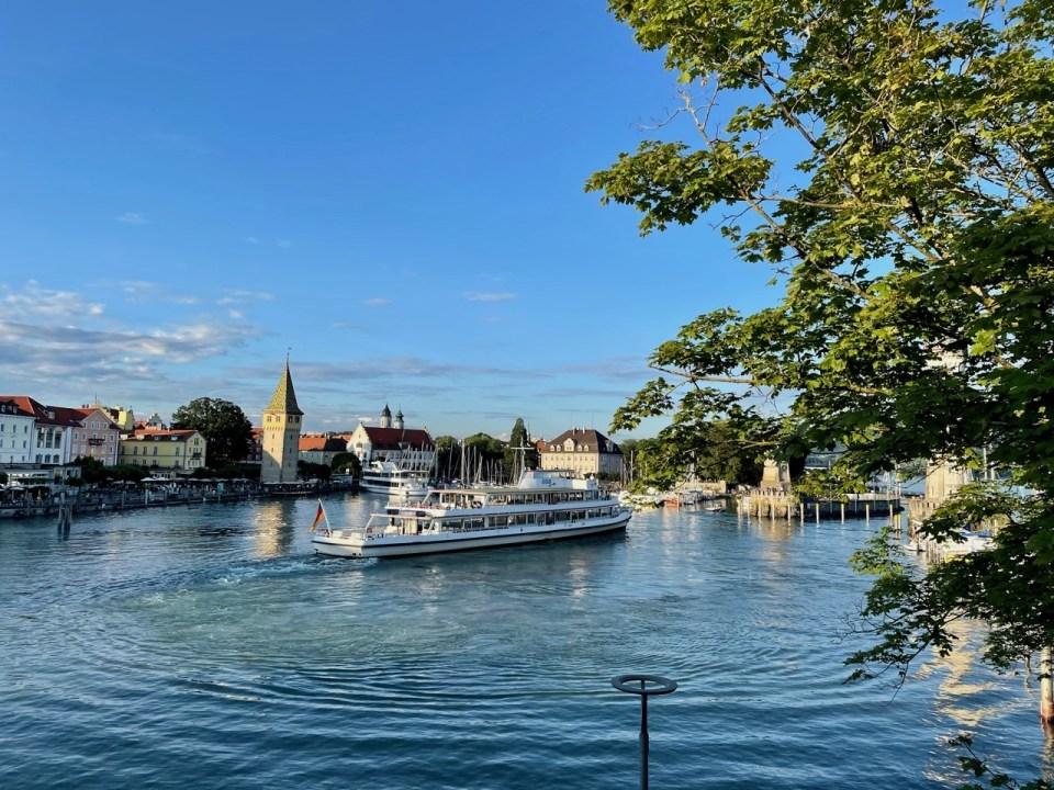 Havnen i Lindau