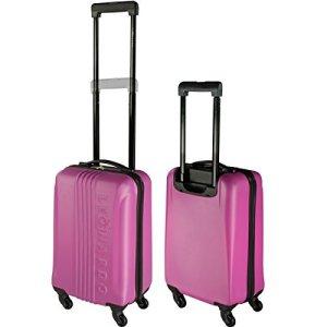 leonardo koffer pink