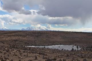 Colca Tal Vulkane