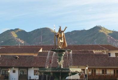 Cusco ist die alte Hauptstadt der Inkas und die Hauptstadt der Provinz. UNESCO, Weltkulturerbe, Machu Picchu, Inka, Quechua, Pizarro, Peru, Sonnengott