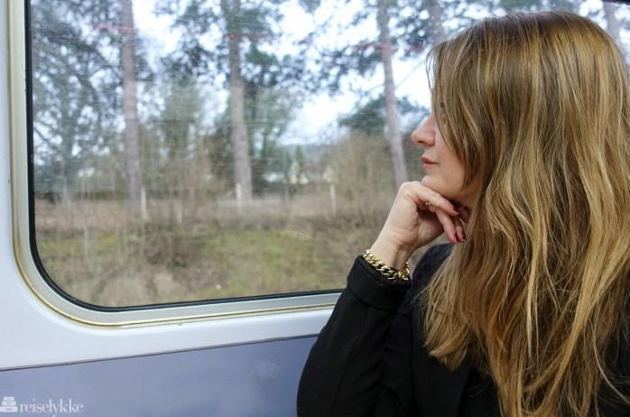 Å reise med tog i England