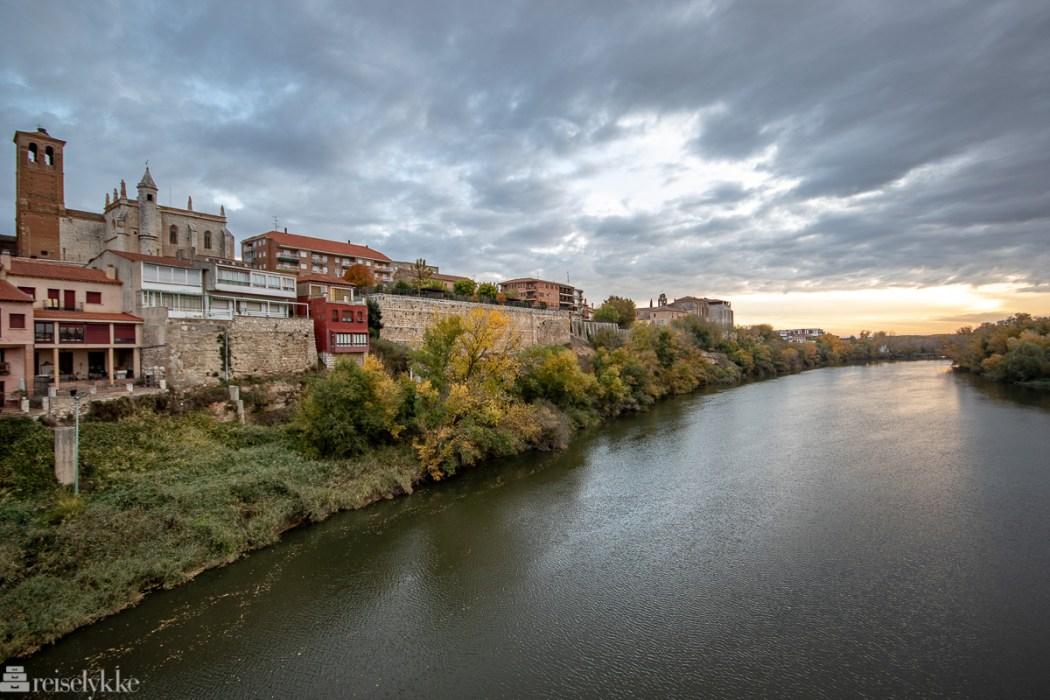 Tordesillas og Duero elven