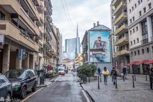 Gatelangs i Milano