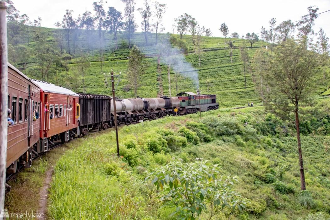 Tog på Sri Lanka