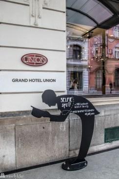 Selfie spot Gran Hotel Union