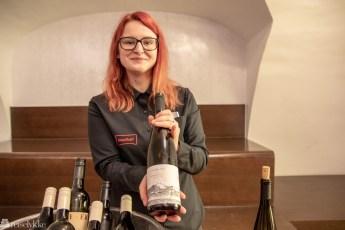 Fra vinsmaking i Slovenia