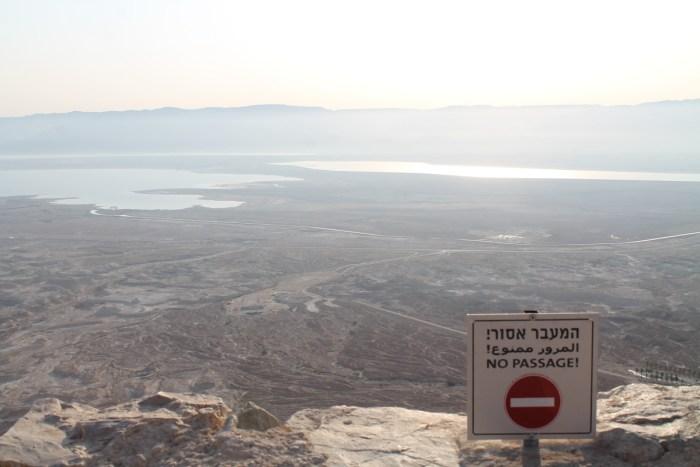 Utsikt fra toppen av fjellet