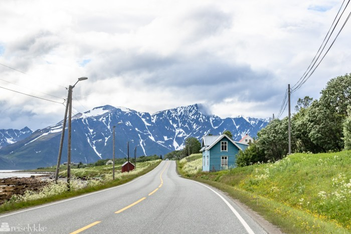 Vei i Kåfjord kommune