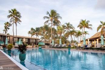 Basseng på Manchebo Beach Resort & Spa