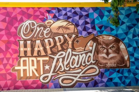 One Happy Art Island Aruba