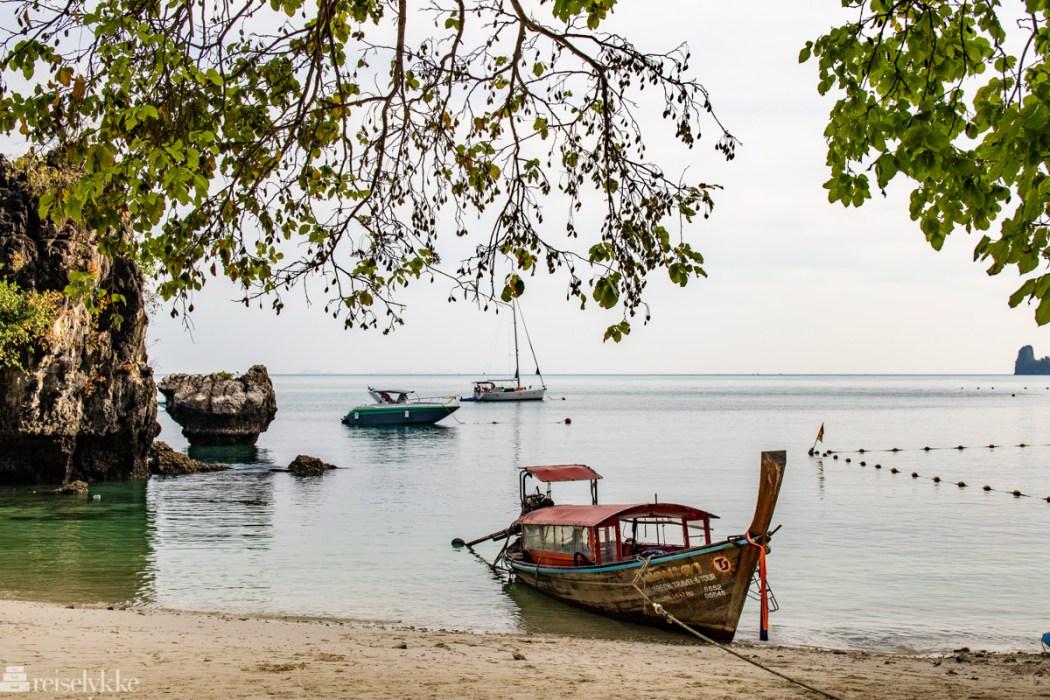 Longtail båt i Krabi