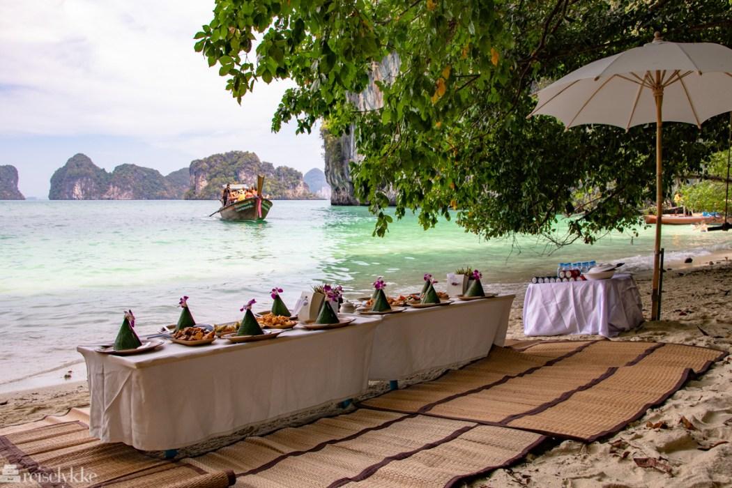 Lunsj på Hong Island
