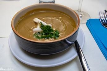 Sopp og trøffelsuppe på Zeller