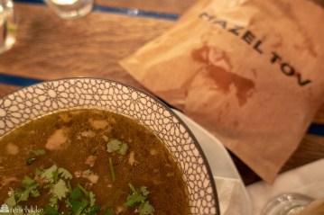 Suppe på Mazel Tov Budapest