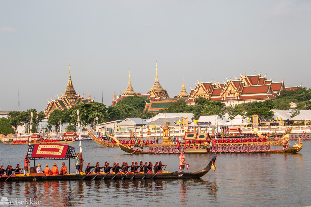 The Royal Barge Procession Bangkok 2019