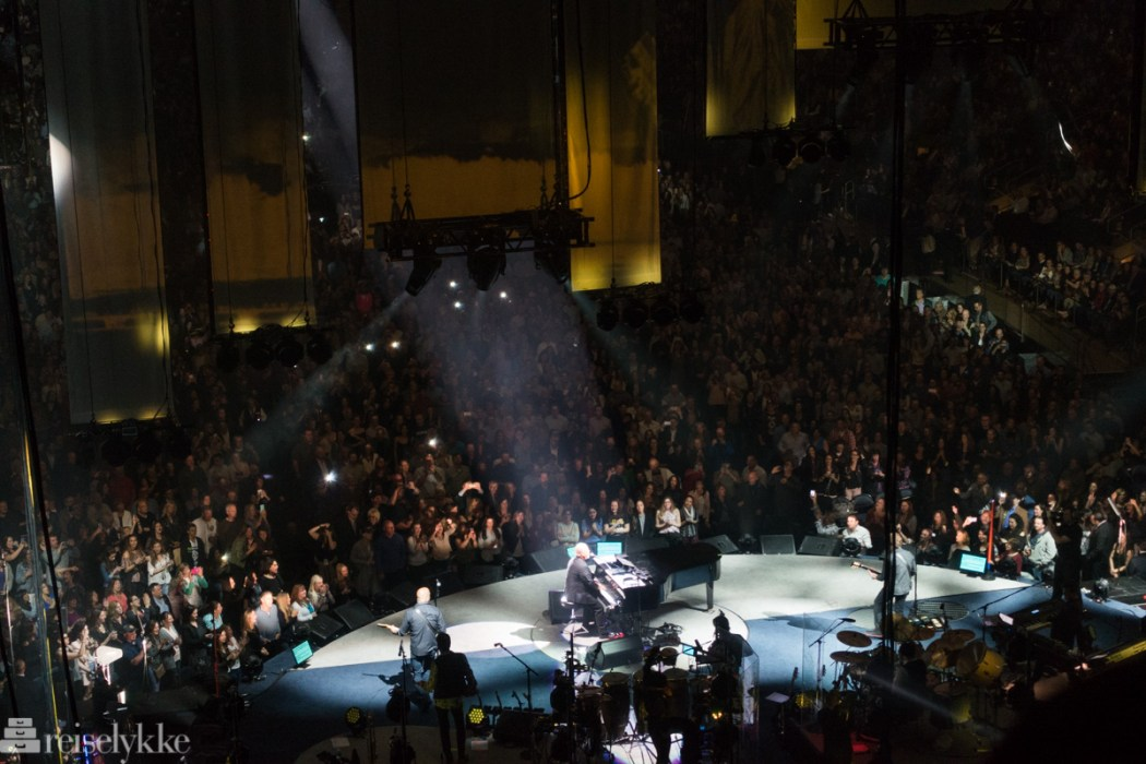 Billy Joel konsert i New York