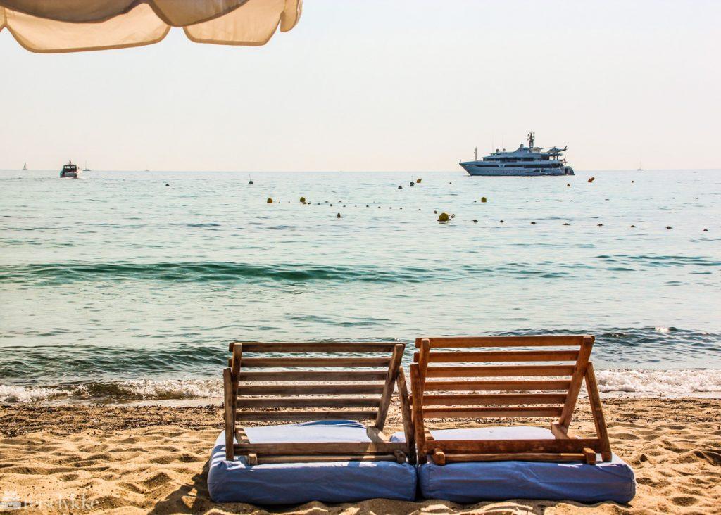 De beste strandklubbene Saint Tropez