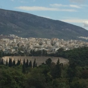 Sightseeing Athens: The First Olympic Stadium of the modern Olympics in Athens (Olympics of 1896)