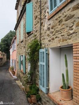 Detaljbilde ved St. Tropez