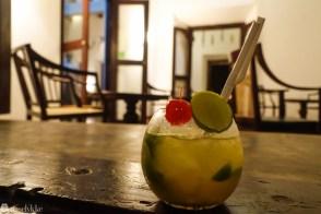 Drink på Galle Fort i Sri Lanka