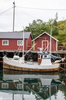 Fiskebåt i Å