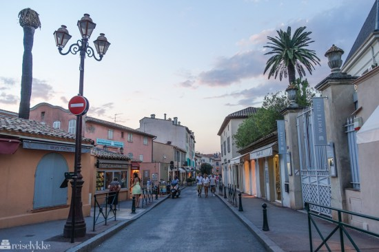 Gatelangs i St. Tropez