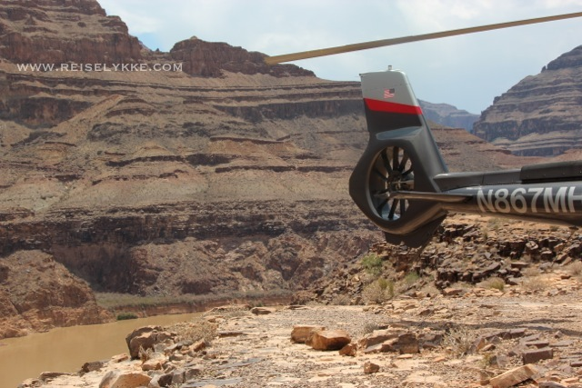 Helikoptertur til Grand Canyon