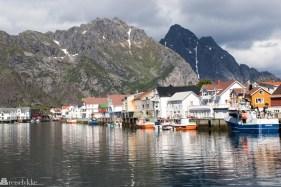 Havna i Henningsvær