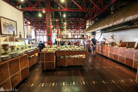 Frokost på Heritance Tea Factory