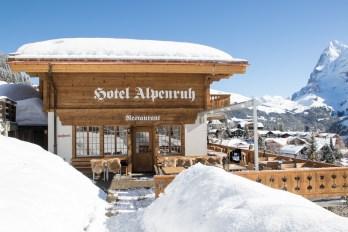 Hotel Alpenruh i Mürren