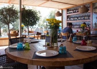 Restaurant på Santorini