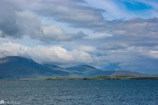 Reykjavik i naturen