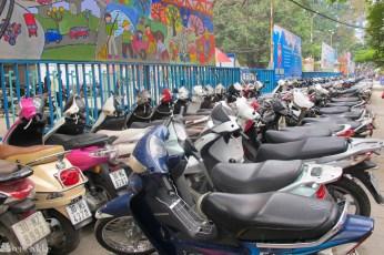 Vietnam: Mopeder i Ho Chi Minh
