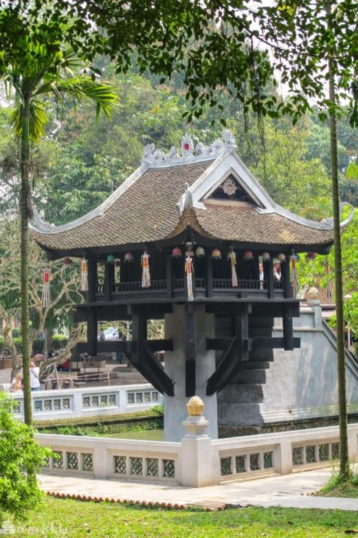 Vietnam: One Pillar Pagoda, Hanoi