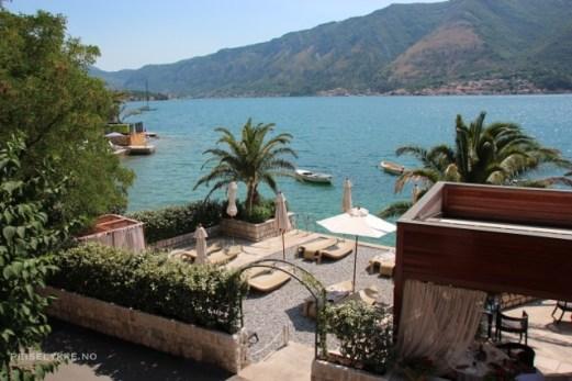 Overnatting i Montenegro, Hotel Forza Mare i Dobrota