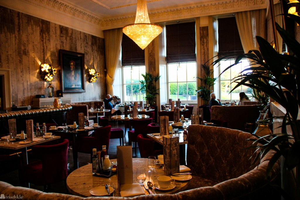 Lord Byron's Lounge på Seaham Hall