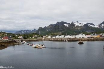 Kabelvåg i Lofoten havn