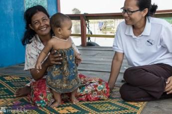 Kai Kolyan i Pichakrey, Tonlé Sap, Kambodsja