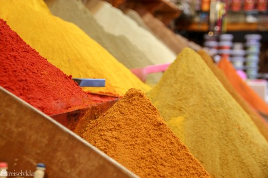 Krydder i Marrakech